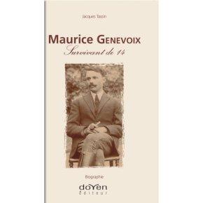 «Maurice Genevoix, survivant de 14» maintenant enlibrairie